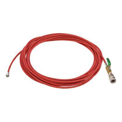 アサダ 1/4PS洗管ホース コック付 10m クイックカプラ仕様 (HD03230)