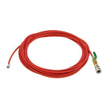 アサダ 1/4PS洗管ホース コック付 20m SUSワンタッチカプラ仕様 (HD03236)