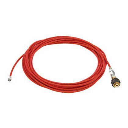 アサダ 1/4PS洗管ホース コック無 10m クイックカプラ仕様 (HD03242)