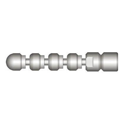 アサダ 1/4スズランノズルM2型 (HD08055)