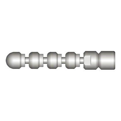 アサダ 1/4スズランノズルM2型 (HD27010)