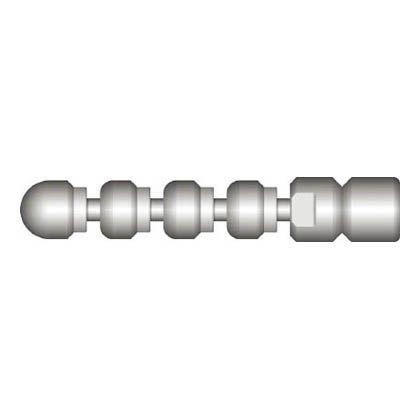 アサダ 1/4スズランノズルM2型 (HD38126)