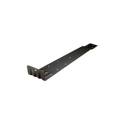 アミリ ステン扇型 (先付) ステン430 黒 H45×W83×D300 U-10-3 100 個