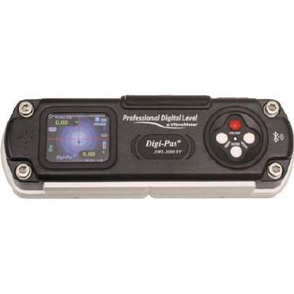 Digi-Pas 精密デジタル水準器 振動計内臓型 ブラック (DXL-3000XY)