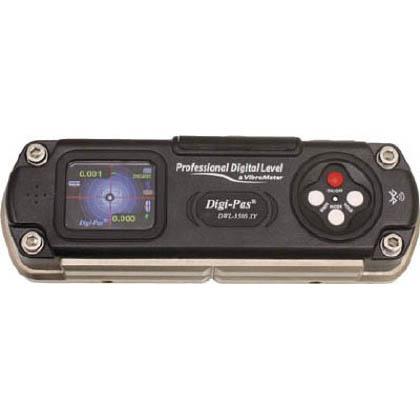 Digi-Pas 精密デジタル水準器 振動計内臓型 ブラック (DXL-3500XY)