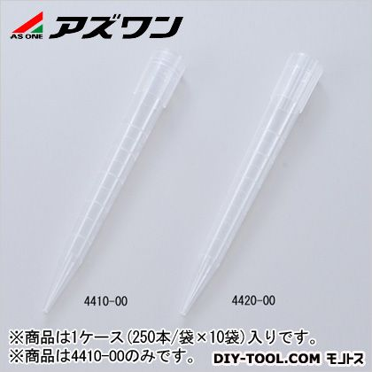 アズワン ピペットチップマクロ 5ml (2-4968-01) 1ケース(250本/袋×10袋入)
