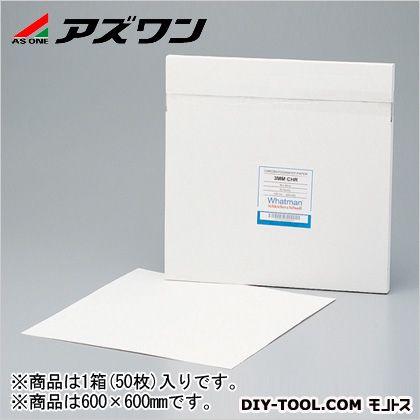 アズワン クロマトペーパー 600×600mm (1-7447-03) 1箱(50枚入)