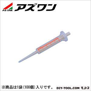 アズワン 可変式連続分注器 オプション (2-5001-15) 1袋(100個入)