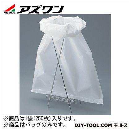 アズワン バイオハザードバッグPP 白 510×720mm 8-360-01 1袋(250枚入)