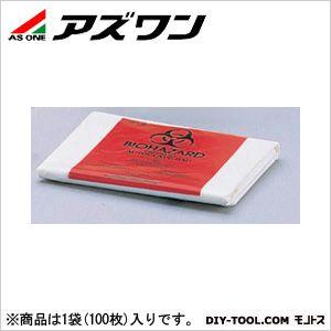 アズワン バイオハザードバッグ 30×61cm 7-5021-01 1袋(100枚入)