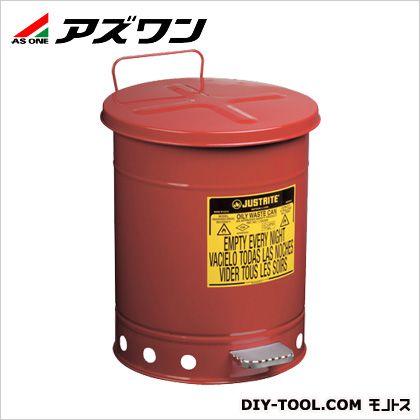 アズワン ジャストライトオイリーウエスト缶6ガロン φ302×403mm約23L 2-1063-01