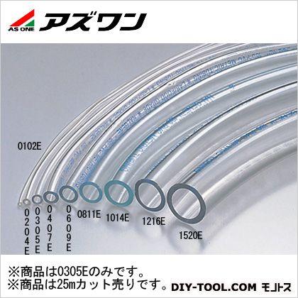 アズワン 透明PVCチューブ 25m (6-8236-03)