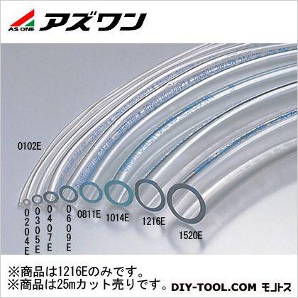 アズワン 透明PVCチューブ 25m (6-8236-08)