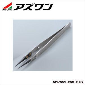 アズワン セラミックピンセット ストッパーピン付き 135mm (1-6808-02) 1本