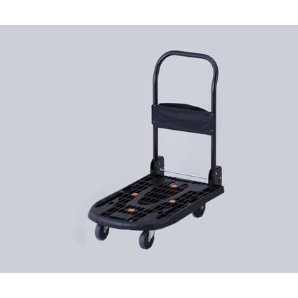 アズワン 軽量樹脂製運搬車 ブラック 490×780×約1000mm 1-1537-01