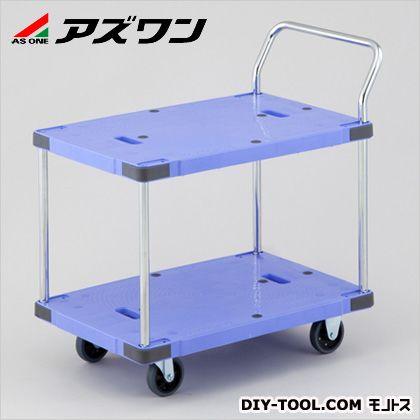 アズワン 静音樹脂運搬車 900×600×995mm 1-5530-01