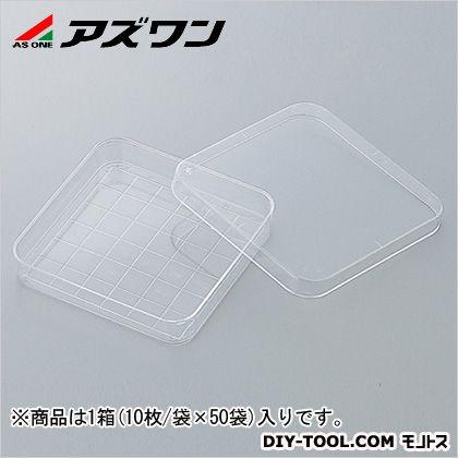 アズワン ペトリディッシュ 96×96×15mm (2-4727-01) 1箱(10枚/袋×50袋入)