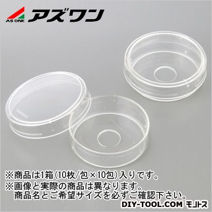 アズワン ガラスボトムディッシュ (1-2424-02) 1箱(10枚/包×10包入)