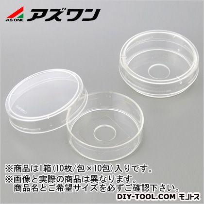 アズワン ガラスボトムディッシュ (1-2424-10) 1箱(10枚/包×10包入)
