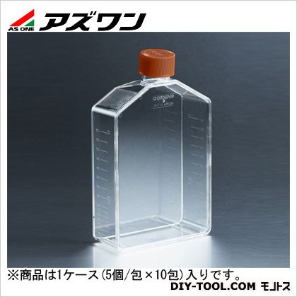 アズワン 細胞培養用フラスコ 750ml 2-2063-12 1ケース(5個/包×10包入)