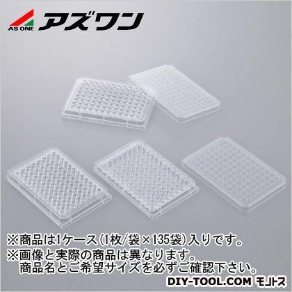 アズワン ビオラモ96ウェルプレート フタ付き滅菌 (1-1601-05) 1箱(1枚/袋×135袋入)