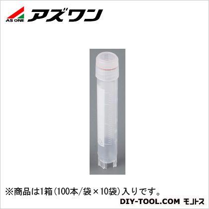 アズワン クライオバイアル 4.0ml (2-3881-05) 1箱(100本/袋×10袋入)
