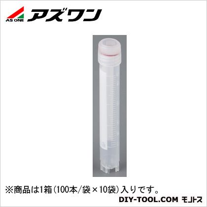 アズワン クライオバイアル 5.0ml (2-3881-06) 1箱(100本/袋×10袋入)