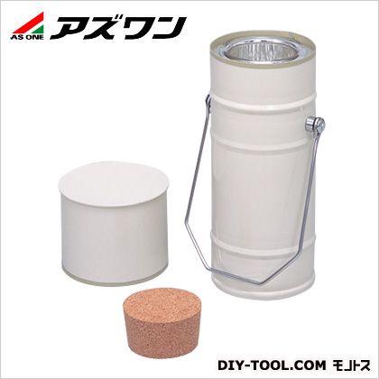 アズワン デュワー瓶 円筒型 3000ml (5-245-06) 1個