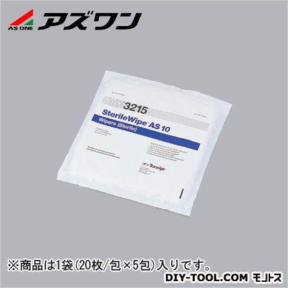 アズワン 滅菌ワイパー 12''×12'' (1-7695-01) 1袋(20枚/包×5包入)
