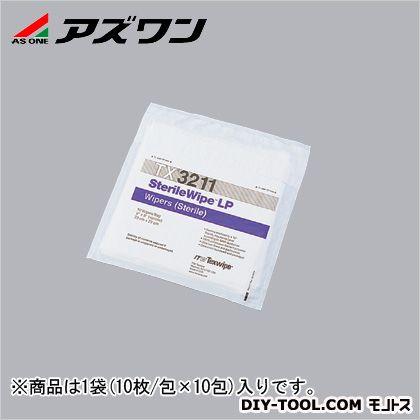 アズワン 滅菌ワイパー 9''×9'' (1-7695-03) 1袋(10枚/包×10包入)