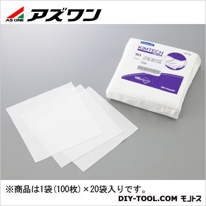 アズワン キムテクピュアW3 152×152mm(6インチ) (2-2880-02) 1袋(100枚入)×20袋
