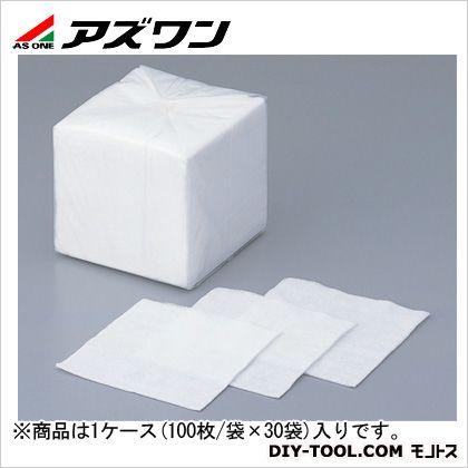 アズワン コットンシーガル(4ッ折) 250×250mm 7-653-02 1ケース(100枚/袋×30袋入)