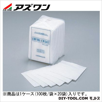 アズワン コットンシーガル(4ッ折) 200×200mm (7-653-11) 1ケース(100枚/袋×20袋入)