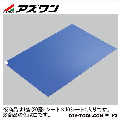 アズワン エコノミー粘着マット 白 600×900mm 2-4910-02 30層
