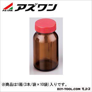 アズワン 規格瓶SCC 茶 250ml (2-4998-10) 1箱(3本/袋×10袋入)