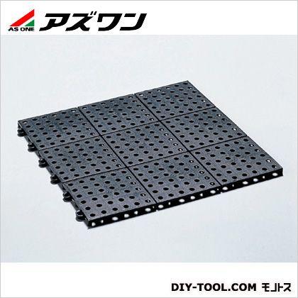 アズワン Jフロア 導電性フロア-マット 300×300×10mm (7-135-01) 1セット(9枚入)