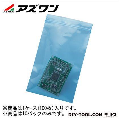 アズワン ICパック(チャック付き) (7-139-07) 1ケ-ス(100枚入)