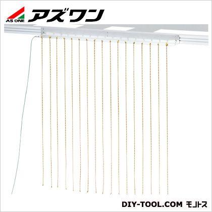 アズワン 除電ロープ(ノレン) ノレン幅900mm×1m (1-9107-02) 1個