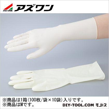 アズワン アズピュアラテックス手袋SP/HG M (1-2255-52) 1箱(100枚/袋×10袋)