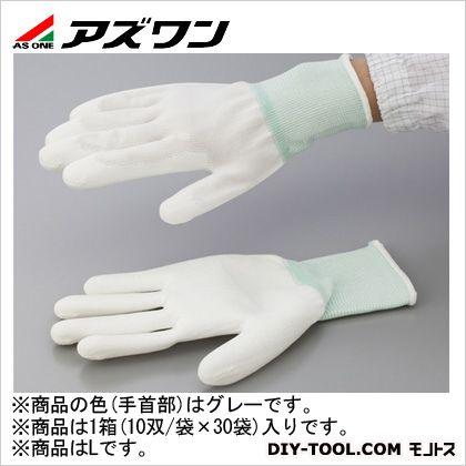 アズワン PUコート手袋オーバーロック 大箱 L (1-2262-62) 1箱(10双/袋×30袋入)