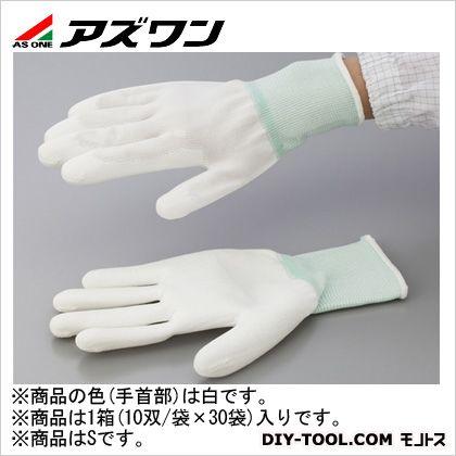 アズワン PUコート手袋オーバーロック 大箱 S (1-2262-64) 1箱(10双/袋×30袋入)