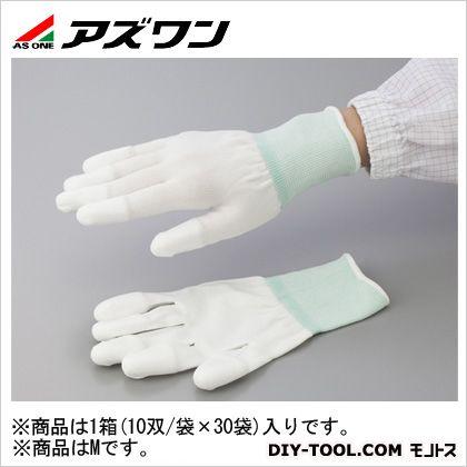 アズワン PUクール手袋オーバーロック 大箱 M (2-2132-53) 1箱(10双/袋×30袋入)