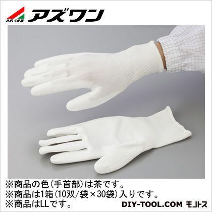 アズワン PUクール手袋オーバーロック 大箱 LL (2-2131-51) 1箱(10双/袋×30袋入)