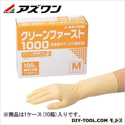 アズワン クリーンファースト M (6-3048-12) 1箱(50枚/袋×2袋)×10箱入