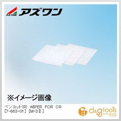 アズワン ベンコット(R) WIPER FOR CR [M-3II] 250×250mm (7-663-01) 100枚/袋×30袋