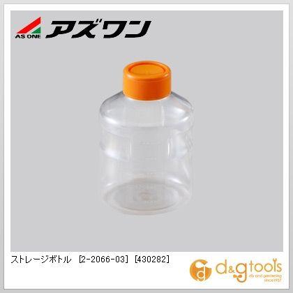 アズワン ストレージボトル [430282] 丸型 500ml 2-2066-03 1箱(24個)