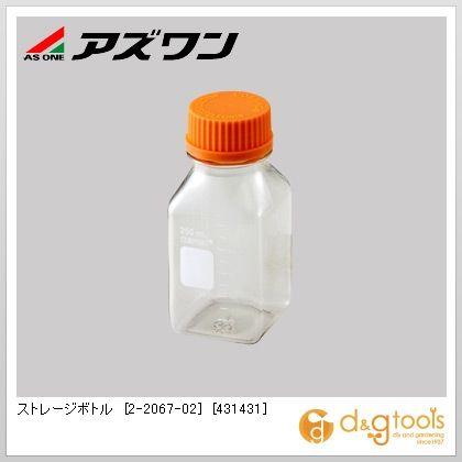 アズワン ストレージボトル [431431] 角型 250ml 2-2067-02 1箱(24個)
