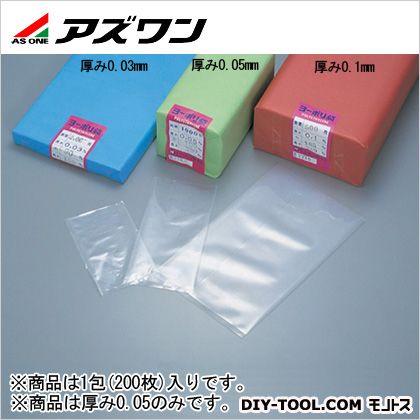 アズワン ポリ袋 760×900mm 6-630-23 1包(200枚入)