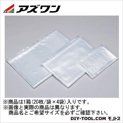 アズワン ハイクリーンポリ規格袋 550×900×0.1mm 1-9181-08 1箱(20枚/袋×4袋)