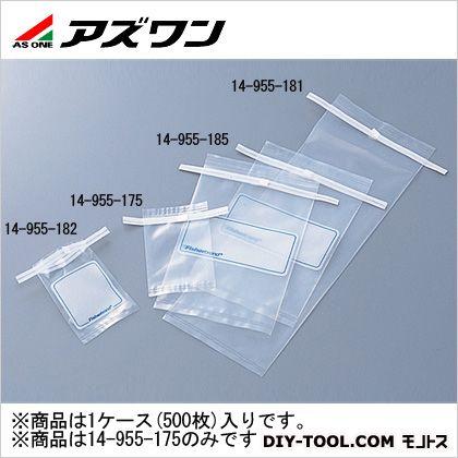 アズワン 滅菌サンプルバッグ 80×130mm60ml 5-5355-01 1ケース(500枚入)